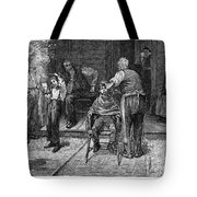 The Village Barber, 1883 Tote Bag