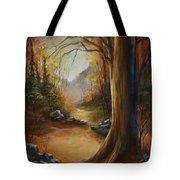 'the Walk' Tote Bag