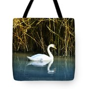 The White Swan Tote Bag