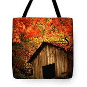 The Wood Shed  Tote Bag