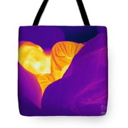 Thermogram Of A Sleeping Girl Tote Bag