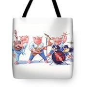 Thin Piggy Tote Bag