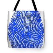 Thumbprint Tote Bag