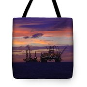 Thunder Horse Before The Storm Tote Bag