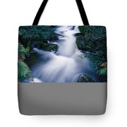 Time Lapse Of Taggerty River Flow Tote Bag