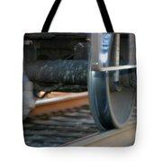 Train Tires Tote Bag