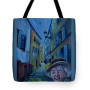 Travel Notebook. Old Nice Tote Bag