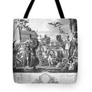 Treaty Of Ghent, 1814 Tote Bag