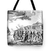 Treaty Of Paris, 1783 Tote Bag