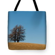 Tree Formation On A Hill Tote Bag