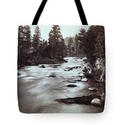 Truckee River - California - C 1865 Tote Bag