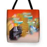 Tsunami Interior Tote Bag