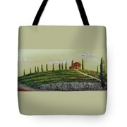 Tuscan Guest House Tote Bag
