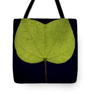 Two Lobed Leaf Tote Bag