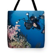 Underwater Photography Tote Bag