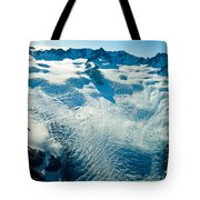 Upper Level Of Fox Glacier In New Zealand Tote Bag