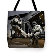 U.s. Air Force Crew Strapped Tote Bag