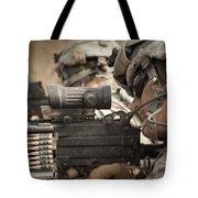 U.s. Army Rangers In Afghanistan Combat Tote Bag