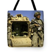 U.s. Army Soldiers Provide Security Tote Bag