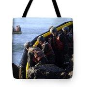 U.s. Navy Seal Candidates Participate Tote Bag
