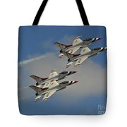 Usaf Thunderbirds Tote Bag