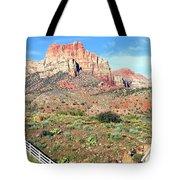 Utah Cactus Field Tote Bag