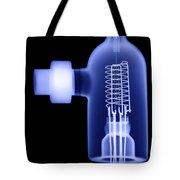 Vacuum Ionization Gauge Tube Tote Bag