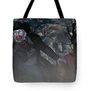 Vampire Cowboy Tote Bag
