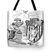 Venezuela Dispute, 1902 Tote Bag