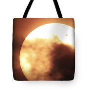 Venus Transiting In Front Of The Sun Tote Bag