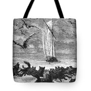 Verne: Around The World Tote Bag