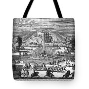 Versailles: Gardens, 1685 Tote Bag