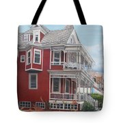 Victorian Afternoon Cape May Tote Bag