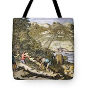 View Of Savannah, Georgia Tote Bag