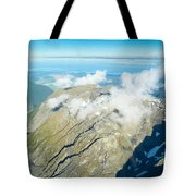 View On To Fox Glacier In South New Zealand Tote Bag