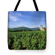 Vineyard. Regnie-durette. Beaujolais Wine Growing Area. Departement Rhone. Region Rhone-alpes. Franc Tote Bag