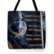 Vintage Car Grill Tote Bag
