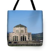 Vista House At Crown Point Tote Bag