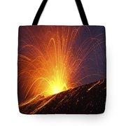 Vulcanian Eruption Of Anak Krakatau Tote Bag