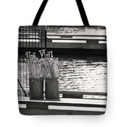 Waiting Tote Bag