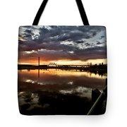Wakamaw Valley Sunrise Tote Bag