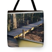 Walk Bridge Tote Bag
