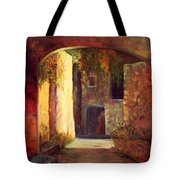 Walled Village Tote Bag