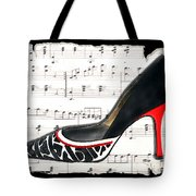 Waltzing Pumps Tote Bag
