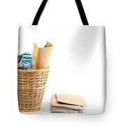 Waste Paper Bin Tote Bag