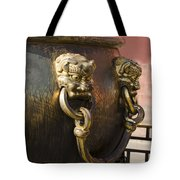 Water Vessel At Forbidden City Tote Bag