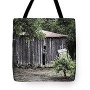 Watercolor Barn Tote Bag by Joan Carroll