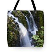 Waterfalls Of Sol Duc River, Olympic Tote Bag