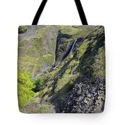 Waterfalls Of Table Mountain Tote Bag