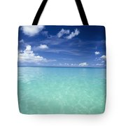 Waters Off The West Coast Tote Bag